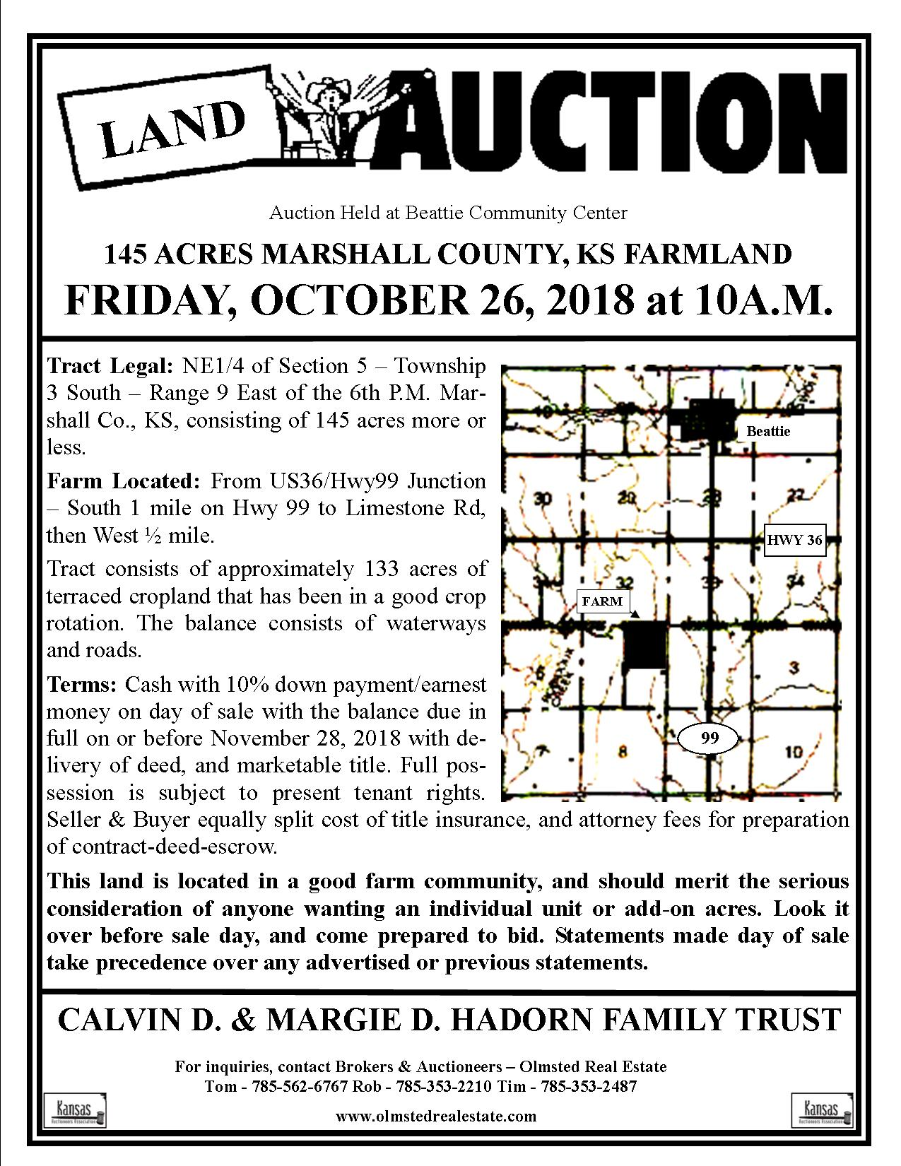 Olmsted Real Estate and Auctions